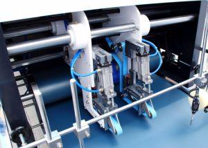 Entièrement automatique 4 /6 coin encollage de pliage de la machine avec une vitesse plus élevée (GK-1100GS)