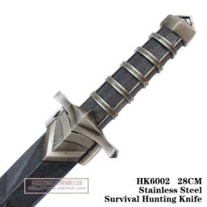 Cuchillos de caza de hoja fija al aire libre recogida de Tiburones de la cuchilla 27cm.