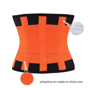 Elástica ajustable personalizados Unisex Correa el apoyo de la cintura Lumbar Volver