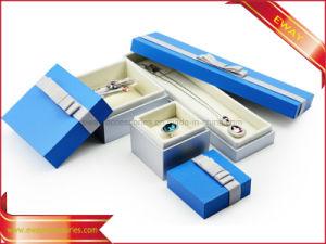 Bijoux cadeau boîtes d'emballage Espace Bleu le couvercle Boîte à Bijoux Bijoux