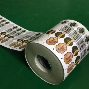 Printer van het Etiket van het Broodje van Cmyk de Automatische voor Zelfklevend Etiket