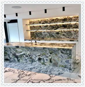 卸し売り石造りの平板の水晶、大理石、台所浴室のプロジェクトのための花こう岩のカウンタートップ