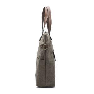 Besace en toile fonctionnelle ou de sacs fourre-tout