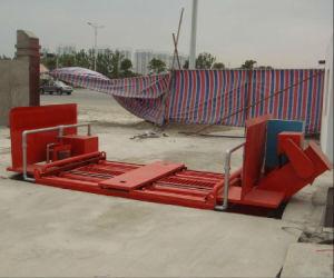 Limpeza das rodas do veículo automatizada de sistemas da máquina de lavagem