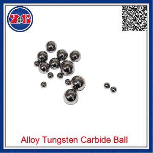 Qualitäts-harte Legierung Tunsten/Hartmetall-Kugel für das Reiben