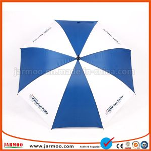 Su ordinazione rendere l'ombrello resistente all'intemperie di golf dell'OEM della stampa con il marchio