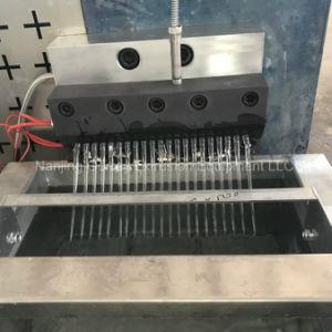 extrusionadora de husillo doble peletizadora reciclados con una gran área de filtro