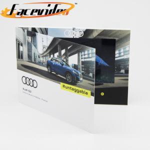 China Suppliers Facevideo Panel TFT LCD de 10,1 pulgadas de Vídeo Vídeo de la marca de coche Revista Folleto Folleto Digital Reproductor de publicidad