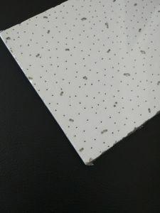 Panneau de plafond acoustique insonorisées / fibre minérale les carreaux de plafond