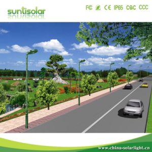 Nuevo 2000LM-8000lm LED Solar integrada Jardín de luz de la calle