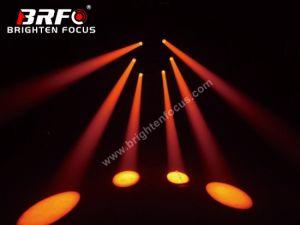 Линза Френеля 60Вт Светодиодные фары дальнего света перемещение головки блока цилиндров для дискотека караоке