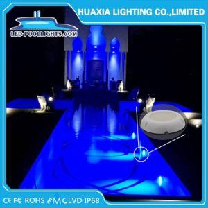 La superficie ha montato l'indicatore luminoso subacqueo del raggruppamento di RGB LED con completamente resina riempita