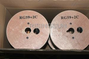 Rg59 de alta qualidade Bc Cabo CCTV de vigilância com UL RoHS ETL marcação