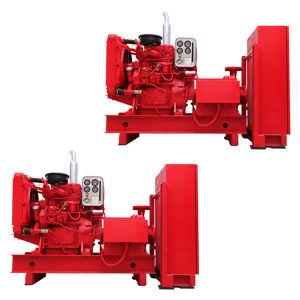 Здание High-Rise пожарного насоса дизельного двигателя пожарного насоса переменного тока
