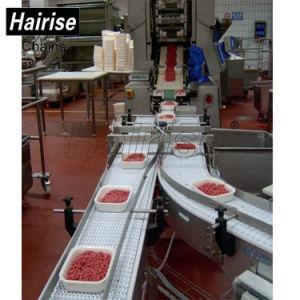 Hairise Nahrungsmittelgrad-modularer Bandförderer für Fleisch-Zeile