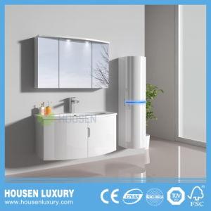Salle de bains Arc-Shaped meubles avec voyant bleu et le miroir du Cabinet1115-900 HS-M