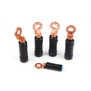 Energien-Vor-Isolierte bimetallisches Messingaluminiumfalz-Terminal/kupfernes Kabel-Ösen