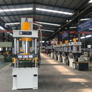 150 тонн четыре колонки гидравлический пресс для прочности на растяжение деформация металла