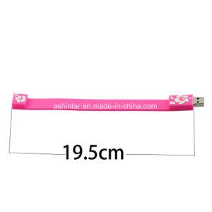 Usb 2.0 de 128g/USB3.0 Pulsera de disco Flash USB unidad Flash USB de goma