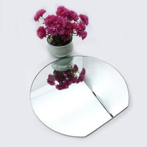 Specchio di alluminio di /Beveled dello specchio di sicurezza della pellicola del vinile dello specchio dello specchio d'argento