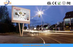 La publicité pleine couleur P10 mur vidéo de plein air Affichage LED incurvée