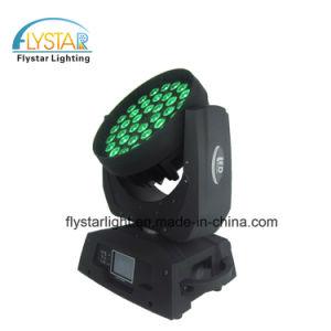 ズームレンズの効果の36PCS 12W LEDの洗濯機の移動ヘッド