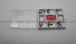 Les Matrices de profilée en coupe dentaire Kit matrice complète) 100pcs et 2 anneaux