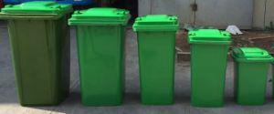 240L en plastique moule Inection Corbeille poubelle