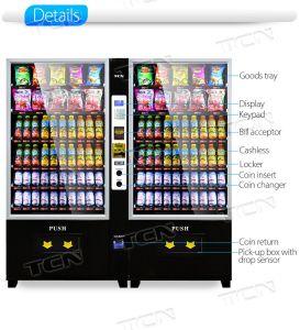 Npt Soda uma máquina automática de venda 10g+10rss com casca preta