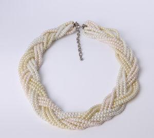 3lines de Halsband van de Manier van de parel