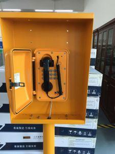 De openlucht Industriële Telefoon van de Spoorweg van de Mijnbouw van de Tunnel van de Telefoon van de Noodsituatie