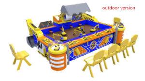 Macchina del gioco dell'escavatore del giocattolo dell'escavatore del capretto di telecomando del parco di divertimenti