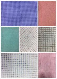 女性の服のためのGriddingのスパンコールの刺繍のメッシュ生地