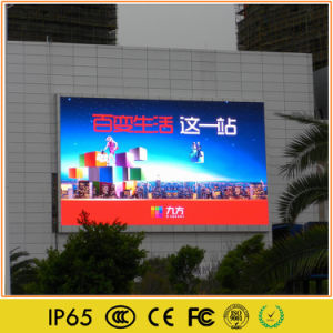 Grand affichage LED de la publicité de plein air pour la vidéo en couleur
