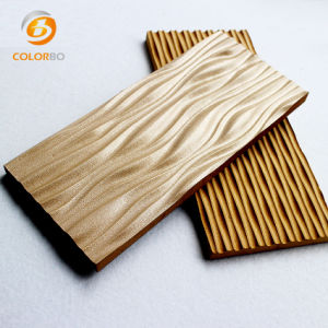 Los paneles de pared de madera de 3D para el entretenimiento lugar