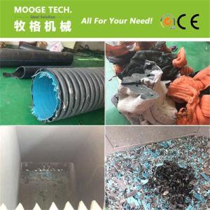 Macchina di plastica della trinciatrice del tubo della singola asta cilindrica