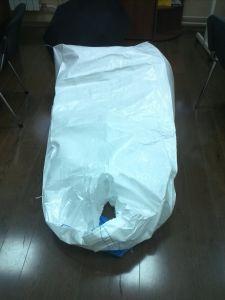 Embalaje Alimentario FIBC Jumbo PP CIRCULAR TEJIDO Big Bag para polvo