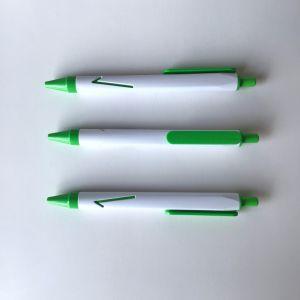 백색 색깔 플라스틱 Promtotion 펜