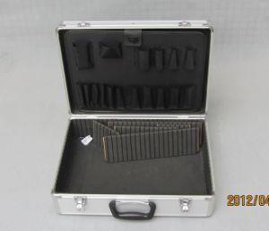 Caja de herramientas de bloqueo bloqueable con plástico de las esquinas Lpcd-3606