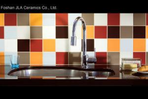 Gray 8X8cm/20x20cm revêtement mural carreaux en céramique émaillée de mur et les marbres