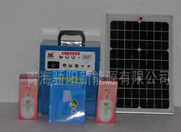 A Energia Solar da Família (10W máquina dividido)