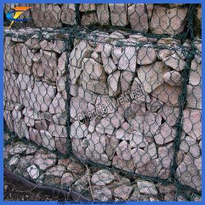 熱い販売PVC Gabion金網