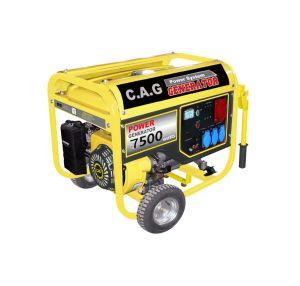 Generatore industriale a tre fasi della benzina dello zoccolo 5500/6500/7500