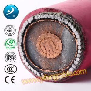 Un único núcleo de 33kv XLPE de 240mm2/aluminio/PVC Blindado con alambre de cable de alimentación