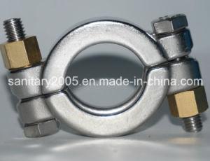 Bride de tube d'acier inoxydable avec la rondelle d'écrou de boulon