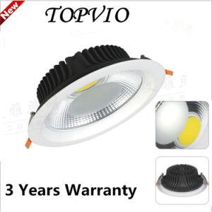 Forsted/PC transparent SMD/COB Plafond Downlight encastré dans le plafond de lumière LED titulaire
