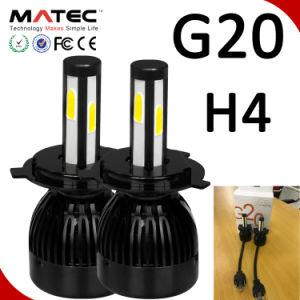 Lâmpada LED G7 H7 H11 9005 9006 Auto 40W 8000lm 6000K 4 lados chips LED branco
