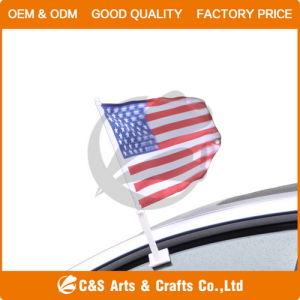 100% Poliéster Car Flag & Flagpole