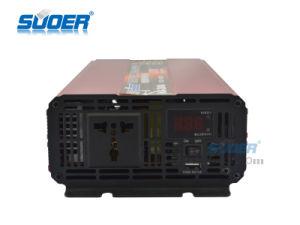 Suoer Venta caliente inversor solar de 2000W inversor solar de 12V a 220V (HAA-2000A)