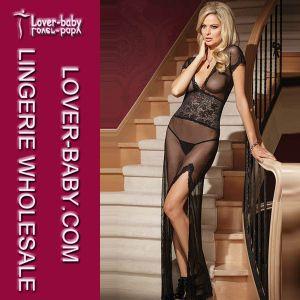 2014 Femme Black Nouveaux lingerie robe dentelle (L5081-2)